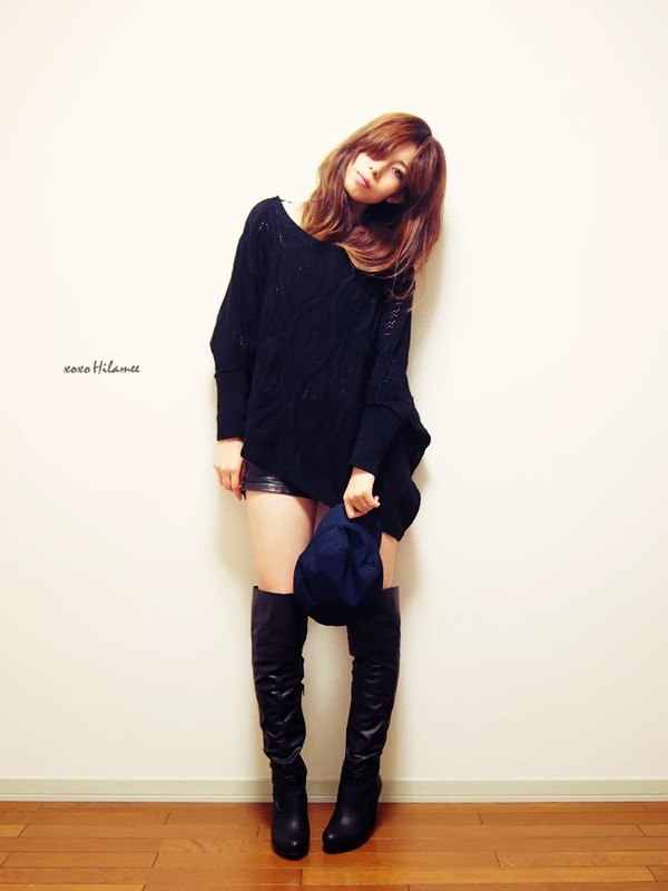 xoxo hilamee sweater shorts shoes hat