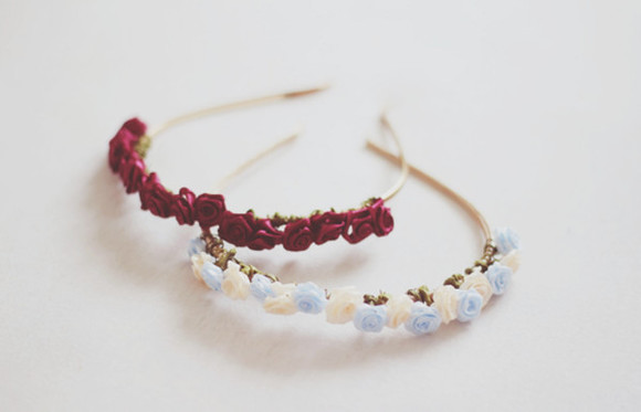 headband jewels flower