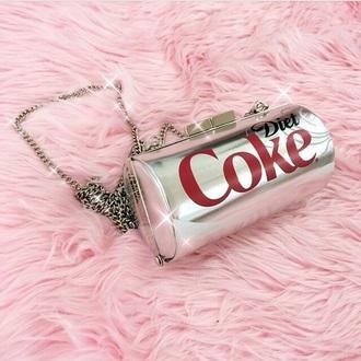 bag clutch coca cola