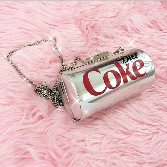 clutch coca cola bag