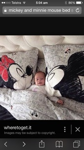 home accessory,mickey and minnie mouse pillow cases