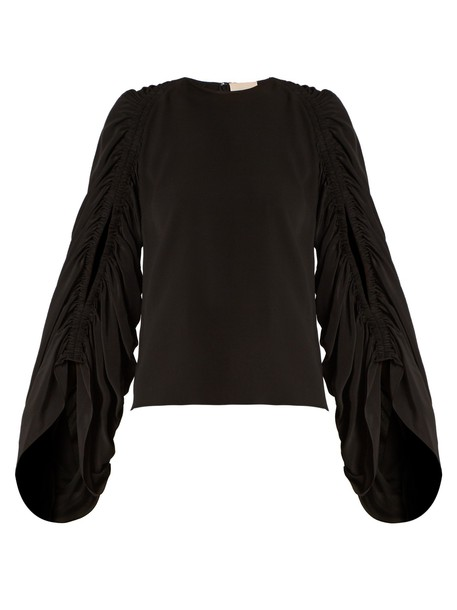 Roksanda blouse silk black top