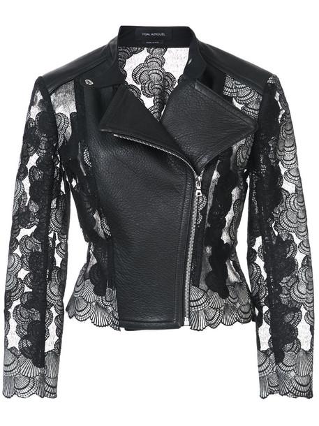 Yigal Azrouel jacket women leather black
