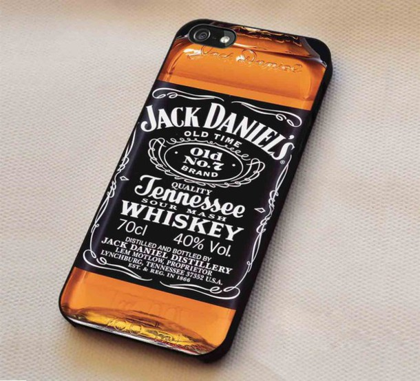 phone cover, beer whiskey, whiskey jack daniels, iphone cover ...