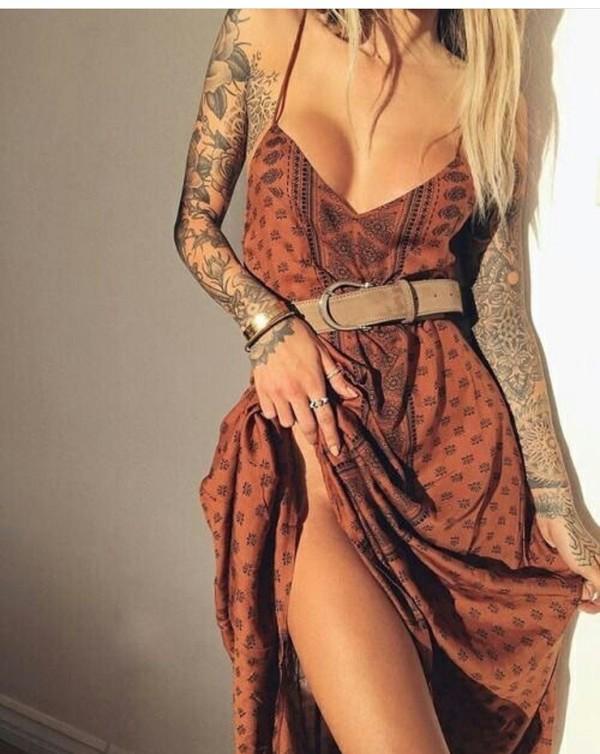 Dress Hippie Boho Dress Boho Boho Chic Boho Fashion