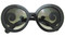 Oversize bellissimo sunglasses in black
