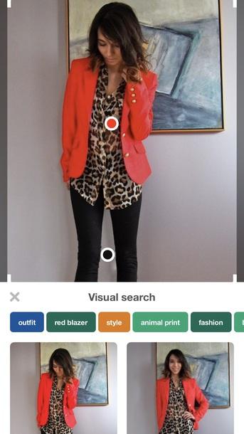 blouse leopard print blouse button up blouse jacket red open blazer