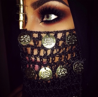 jewels face jewels mouth jewels coins gold gold jewelry crochet crochet mask