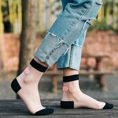 socks,shanghai trends,transparent socks,sheer socks,nylon sock,nylon socks,nylon,sheer,kawaii,kawaii socks,aw17