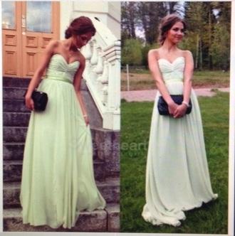 dress formal mint prom
