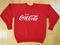 Super dope!! 80s vintage coca cola sweat shirt coke soda pop medium