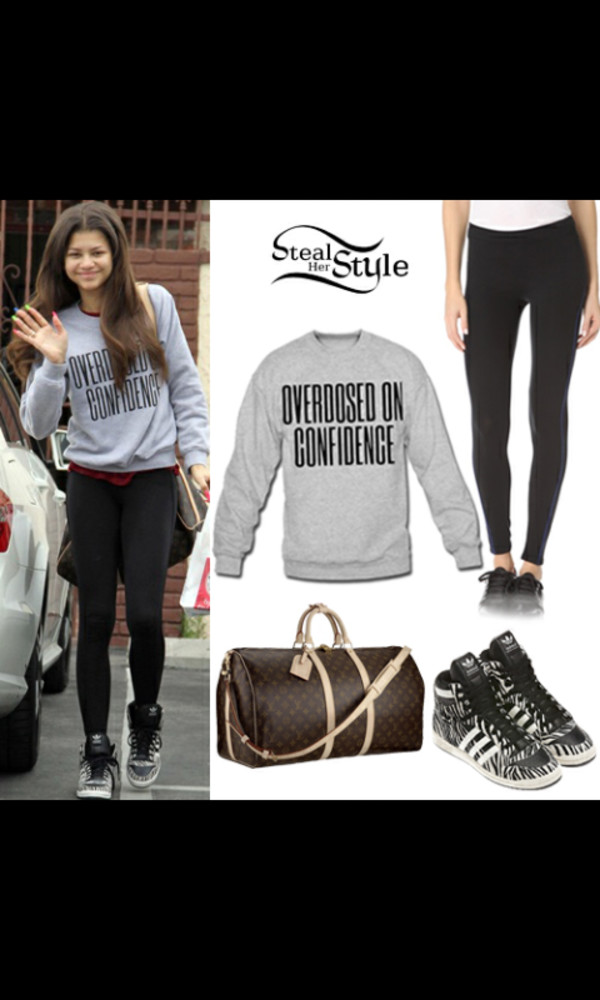 overdosed zendaya leggings jacket