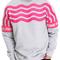Stripe crewneck sweatshirt by pink dolphin