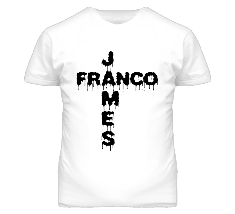 Dripping Celebrity James Franco Popular Graphic T Shirt