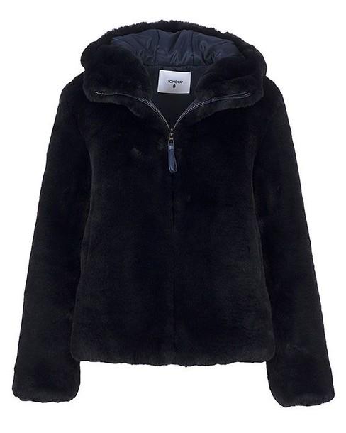 DONDUP jacket faux fur jacket fur jacket fur faux fur