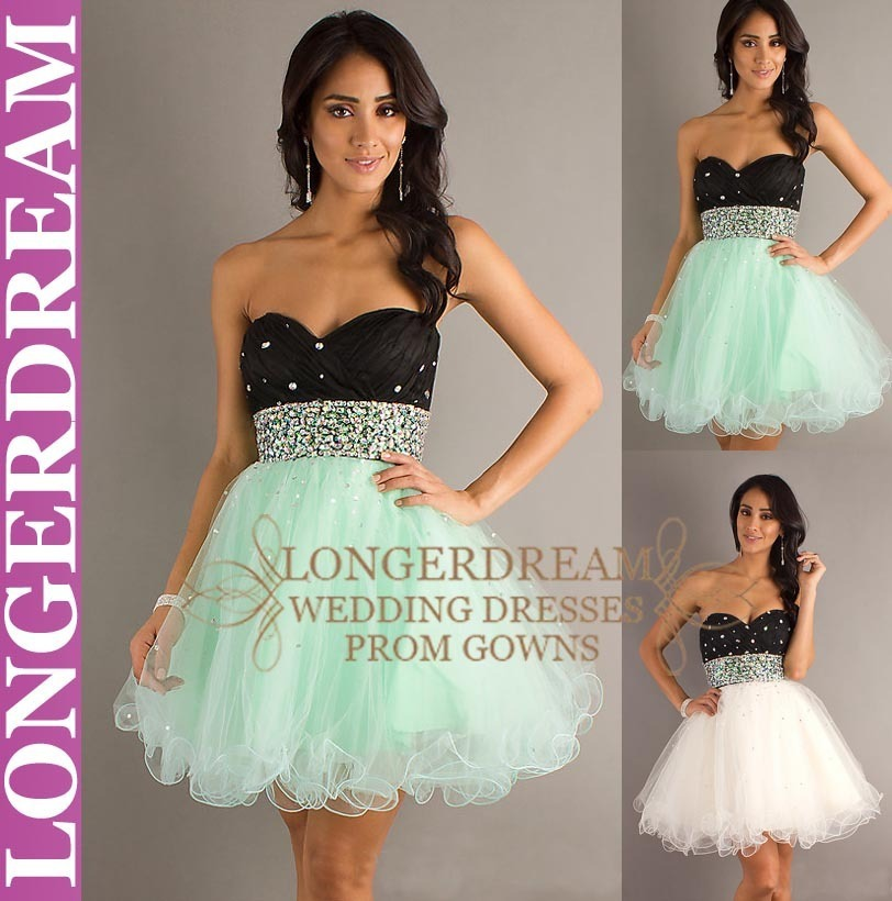 C74 popular A line Sweetheart Beaded Mini fashion sexy Pageant ball birthday Homecoming Formal Party Cocktail Prom Dresses gown-in Cocktail Dresses from Apparel & Accessories on Aliexpress.com