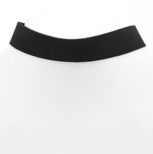 Black Suede Choker Necklace