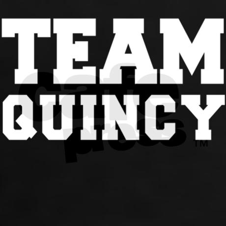 Team quincy tee on cafepress.com