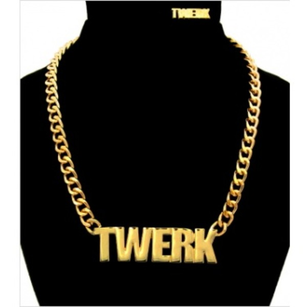 jewels imbossy chain gold chain dope trill twerk gold