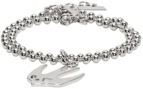 McQ Alexander McQueen silver jewels