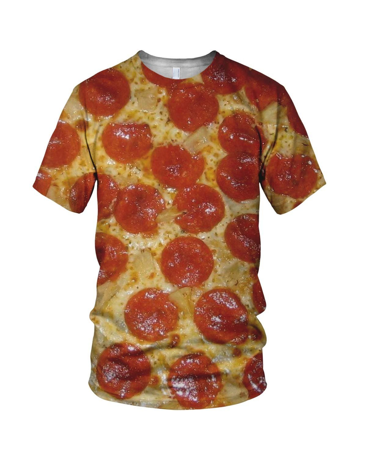 All Over 3D Print Pizza Lover Fashion Men's T Shirt at Amazon Men's Clothing store: