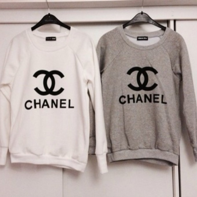 chanel logo sweater ebay sweater vest. Black Bedroom Furniture Sets. Home Design Ideas