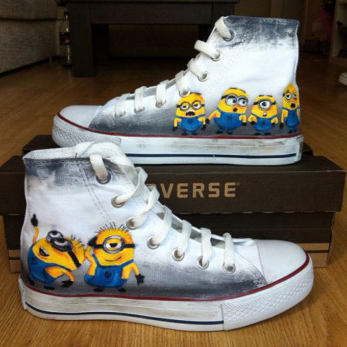 Minion Converse Shoes For Sale