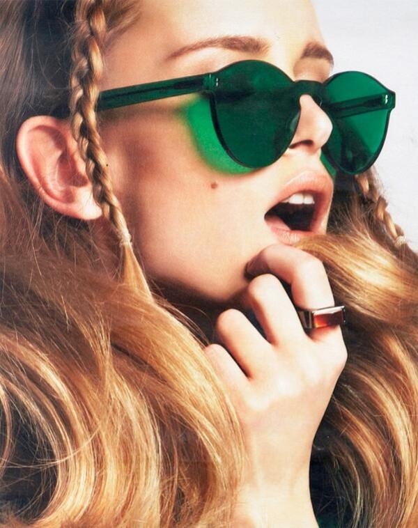 sunglasses emerald green st.patricks green green sunglasses cool sunglasses no frame