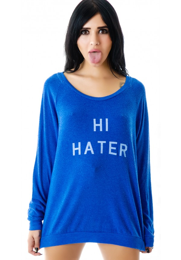 Local Celebrity Hi Hater Stones Lounger, Royal Blue Hi Hater Stones Lounger | Dolls Kill