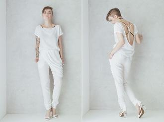 natalie's fashion workshop blogger underwear pants t-shirt jewels