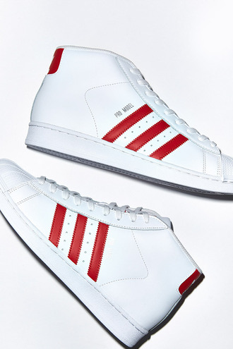 shoes red sneakers college back to school white sneakers high top sneakers sneakers
