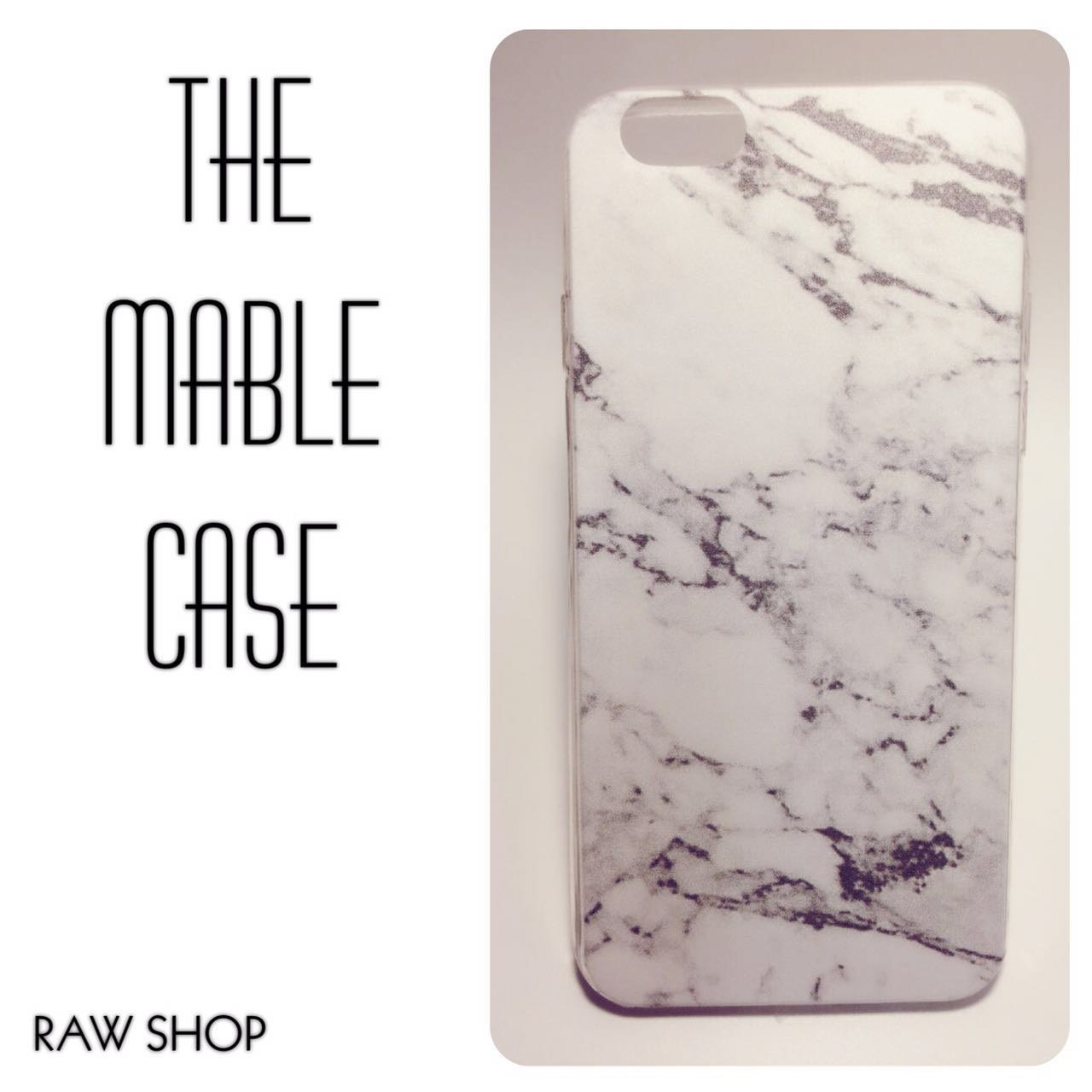 premium selection a53b5 7d977 Marble Phone Case - Marble Printed -iPhone 6/ iPhone 6s - Soft Case -Best  protection - RAW SHOP