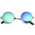 Retro Lennon Style Round Circle Metal Mirror Lens Sunglasses 1408                           | zeroUV
