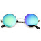 Retro lennon style round circle metal mirror lens sunglasses 1408                           | zerouv