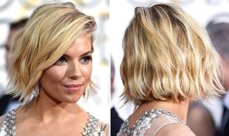 blogger hairstyles sienna miller hair/makeup inspo short hair