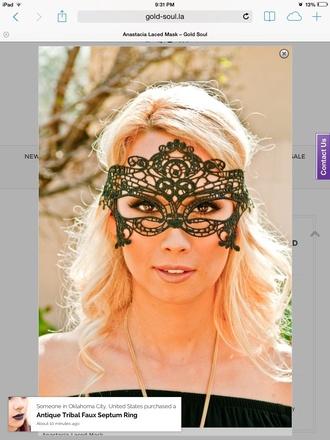 blouse eye wear accessoris costume