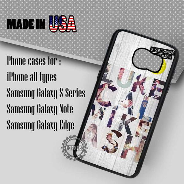 Samsung S7 Case - Seconds of Summer Vintage Band - iPhone Case #SamsungS7Case #5SecondsOfSummer #yn