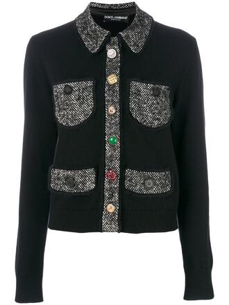 jacket women cotton black silk
