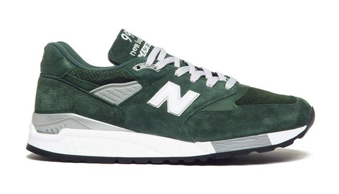 """New balance 998 """"hunter green"""""""