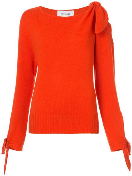 sweater women red