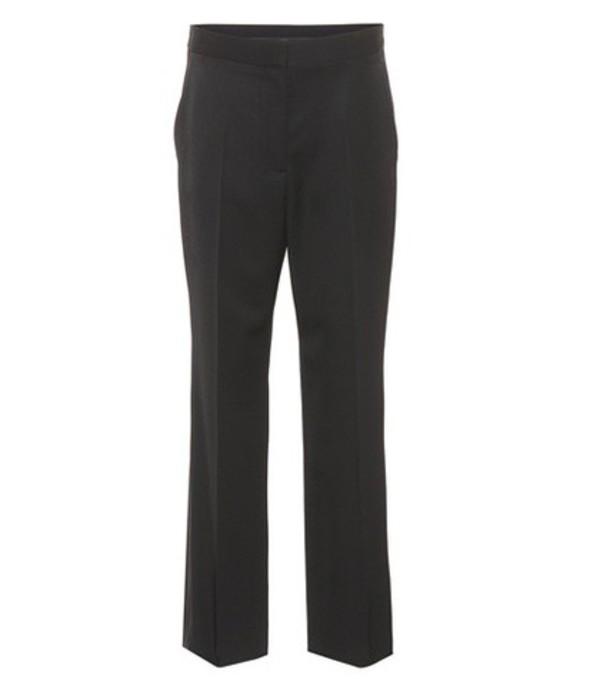 Stella McCartney Wool tuxedo trousers in black