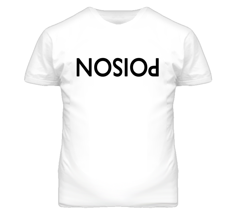 Poison Upside Down And Backwards Niall Horan Graphic T Shirt