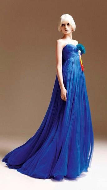 dress maxi dress prom dress blue dress model