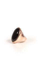 Bronzallure Ring mit facettiertem Bergkristall bei myClassico Online Shop für TOP-Fashion