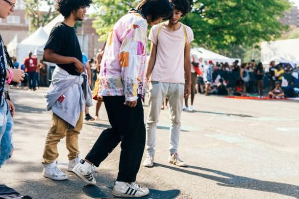 jacket afropunk festival festival top music festival festival looks festival clothes sneakers