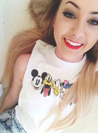 top disney white