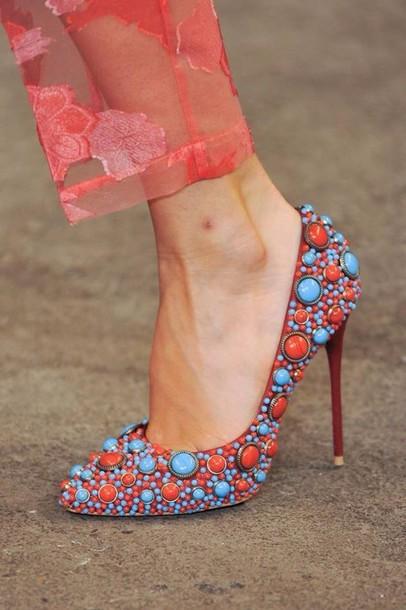shoes stilettos