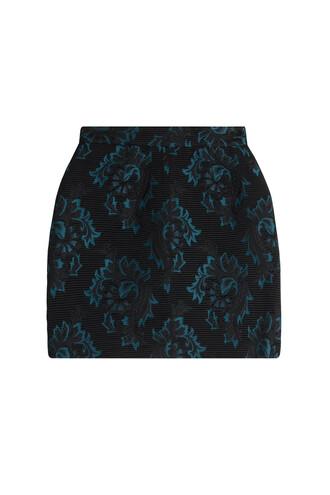 skirt mini skirt mini jacquard black