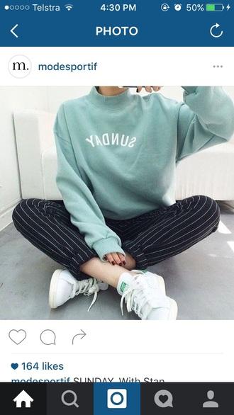 sweater adidas mint adidas shoes