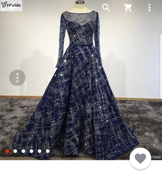 dress blue dress sequin dress sparkle navy dress prom dress ball gown dress pageant dress evening dress
